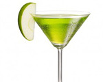 Apple Fool's Martini Cocktail