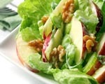 Apple Salad with Sour Cream Dressing