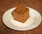 Applesauce Snack Cake