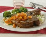Apricot-Glazed Pork Loin Chops