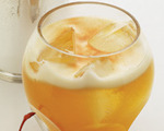 Apricot Sour Cocktail