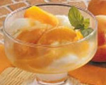Apricot Yogurt Sundae