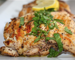 Arabic Style Grilled Chicken with Sumac