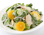Asian Chicken Salad with Sesame-Ginger Vinaigrette