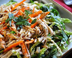 Asian Chicken Salad with Toasted Almonds
