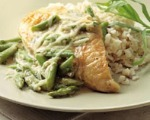 Asparagus-Cheese Chicken