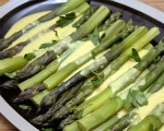 Asparagus with Curry Sauce