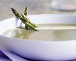 Asparagus Soup with Crème Fraiche