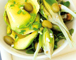 Avocado and Artichoke Salad