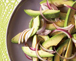 Avocado and Red Onion Salad