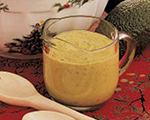 Avocado, Lemon and Pepper Salad Dressing
