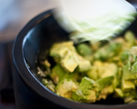 Avocado, Lime and Honeydew Melon Salsa