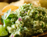Avocado and white bean dip