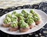 Avocado Stuffed Marinated Mushrooms