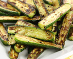 Baby Zucchini Sauté with Mint