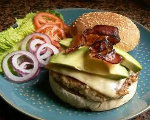 Bacon-Mex Burger