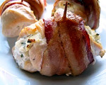 Beef and Bacon Wrapped Chicken