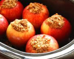 Gingerale Baked Apples