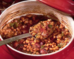 Baked Beans with Turkey
