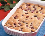 Baked Cherry Pudding