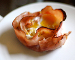 Baked Egg and Ham Hug