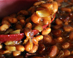 Sweet and Sour Baked Beans