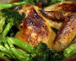 Baked Chicken and Broccoli