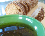 Balsamic Vinegar and Roasted Garlic Dipping Oil