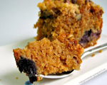 Banana Blueberry Coffee Cake