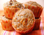 Banana Carrot Apple Muffins
