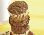 Gingerbread Banana Muffins