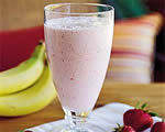 Banana Strawberry Shake