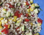 Barley Salad with Summer Vegetables