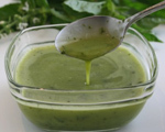 Basil, Honey and Lemon Dressing