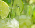 Basil Lime Fizz Beverage