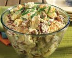 Beans with Potatoes Salad