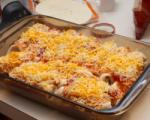 Spicy beef and bean enchiladas