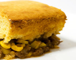 Beefy Mexican Corn Bread