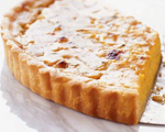 Belgian Tart with Leeks and Goat Cheese