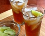 Bermudian Dark 'n' Stormy Cocktail