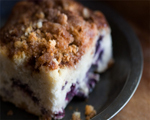 Black and Blueberry Coffee Cake