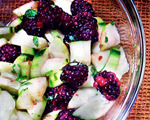 Blackberry, Mint and Cucumber Salad