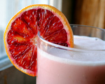 Blood Orange and Coconut Milk Julius