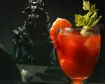 Bloody Mary with Pickled Shrimp