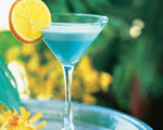 Light Blue Moon Cocktail