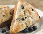 Blueberry and Oat Scones