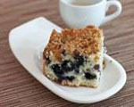 Blueberry Oat Coffee Cake