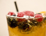 Bourbon Cobbler Cocktail