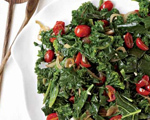 Braised Greens with Tomatoes