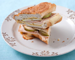 Brie and Smoked Turkey Panini